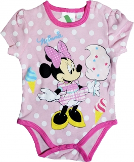 Disney Minnie body 12hó 6-Új