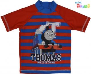 Mini Club Thomas piros-kék csíkos úszó felső 92  4-Hibátlan empty 11bf920f4d