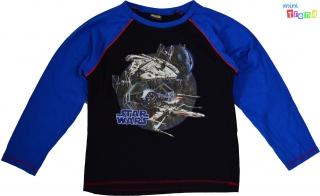 Star Wars kék-fekete pizsi felső 8-9év  4-Hibátlan empty cd4d328459