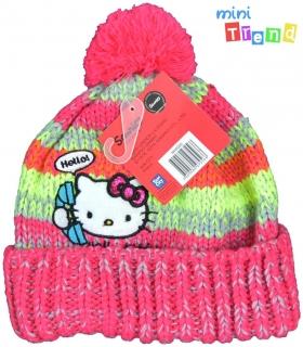 83306f7453 Hello Kitty pink csikós kötött sapka 54cm' 6-Új empty