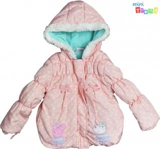 140f16c662 Peppa púder szinű téli kabát 2-3év' 3-Jó állapot empty