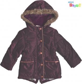 F F padlizsán színű téli kabát 2-3év  4-Hibátlan empty 1e40ef219b