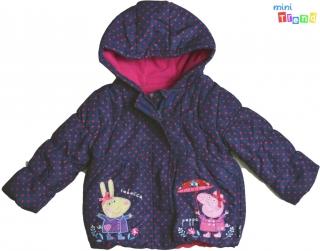be8934173d Nutmeg Peppa pöttyös sötétkék téli kabát 2-3év' 3-Jó állapot(szálhúzódás  empty