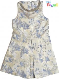 River island arany csillogó kék-ezüst alkalmi ruha 6év  4-Hibátlan empty 3d1c7b1129