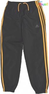 950026a815 Adidas narancs csíkos, belül hálós szabaidő nadrág 9-10év' 4-Hibátlan empty