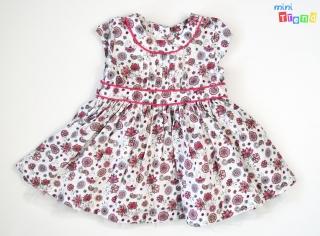 5245945940 Matalan mintás fehér, alsószoknyás ruha 68' 4-Hibátlan empty