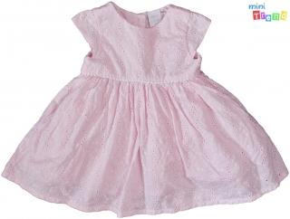 e5625b39a5 MiniClub hímzett rózsaszín, alsószoknyás ruha 62' 4-Hibátlan empty