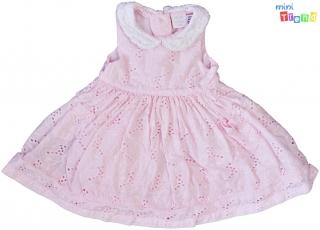 62c7220dfd Mini Club rózsaszín hímzett ruha 50-56' 4-Hibátlan empty